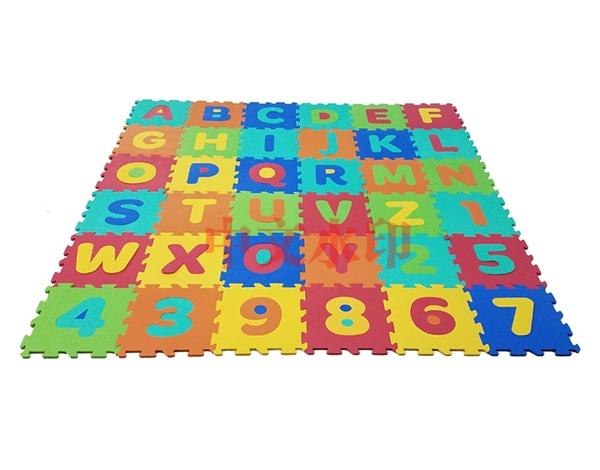 数字字母拼图地垫