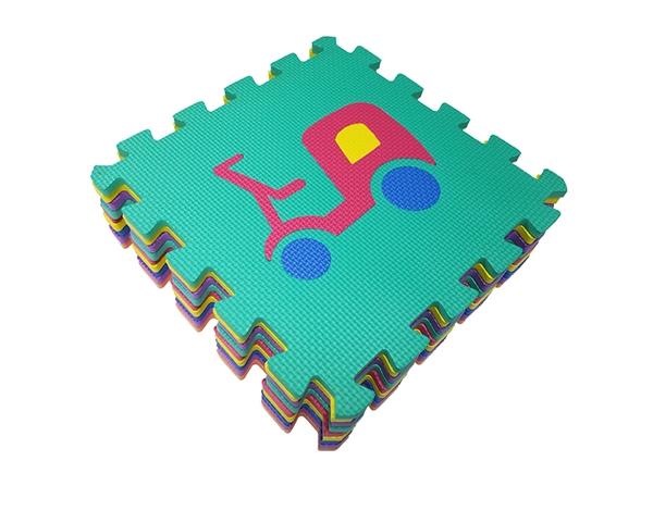 交通工具拼图地垫厂家