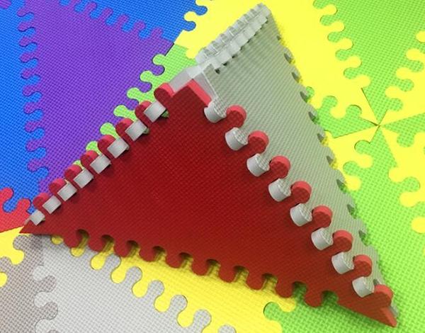 三角形拼图地垫