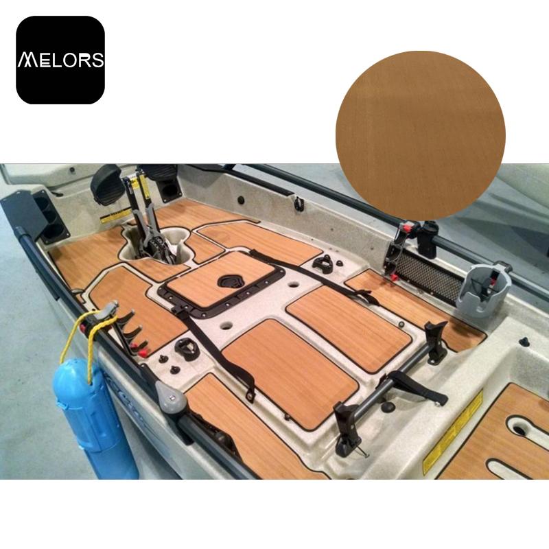游泳池游艇EVA人造柚木地板