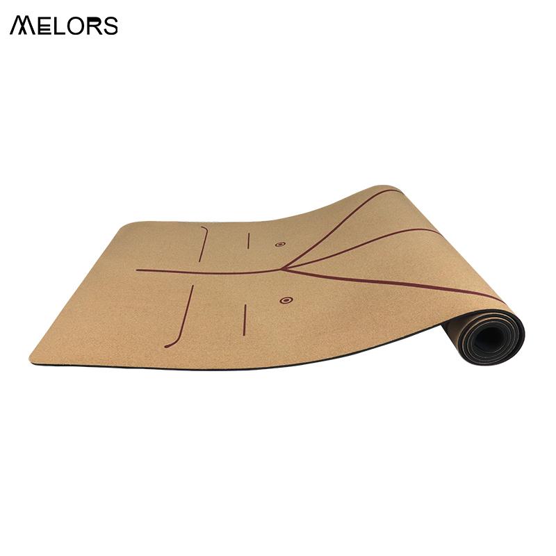 定制木色瑜伽垫