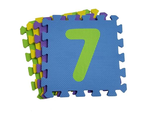 数字拼图地垫