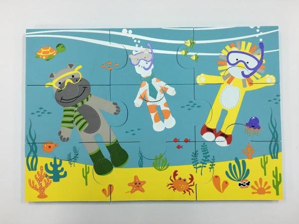 深圳EVA浴室拼图玩具