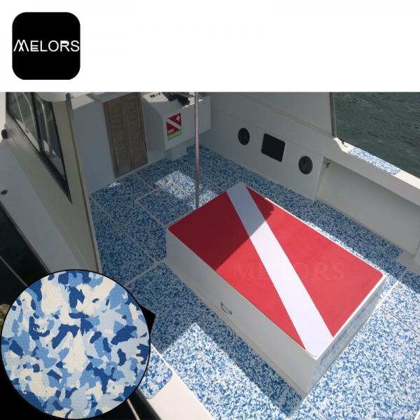 迷彩船艇地板EVA防滑垫豪华游艇房车钓鱼艇快艇船甲板
